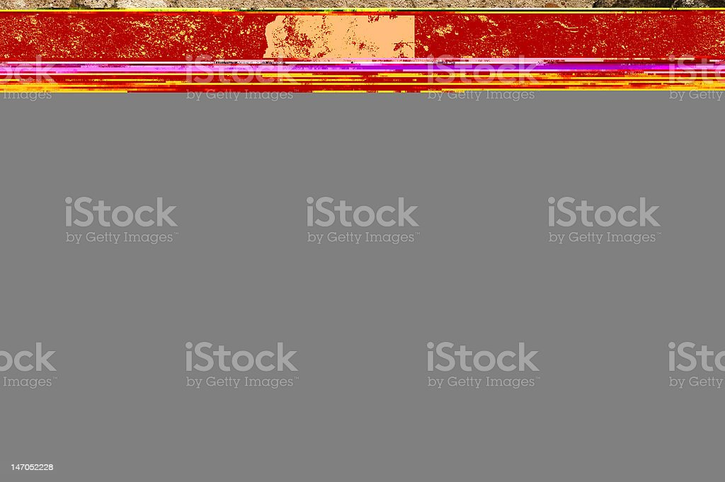 Old cracked wall royalty-free stock photo