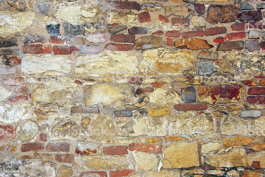 old cracked wall stock photo