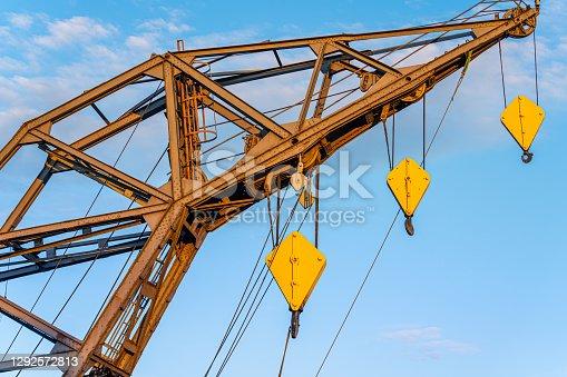 Cranes of the Hamburg