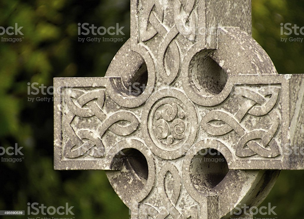 Old Cross stock photo