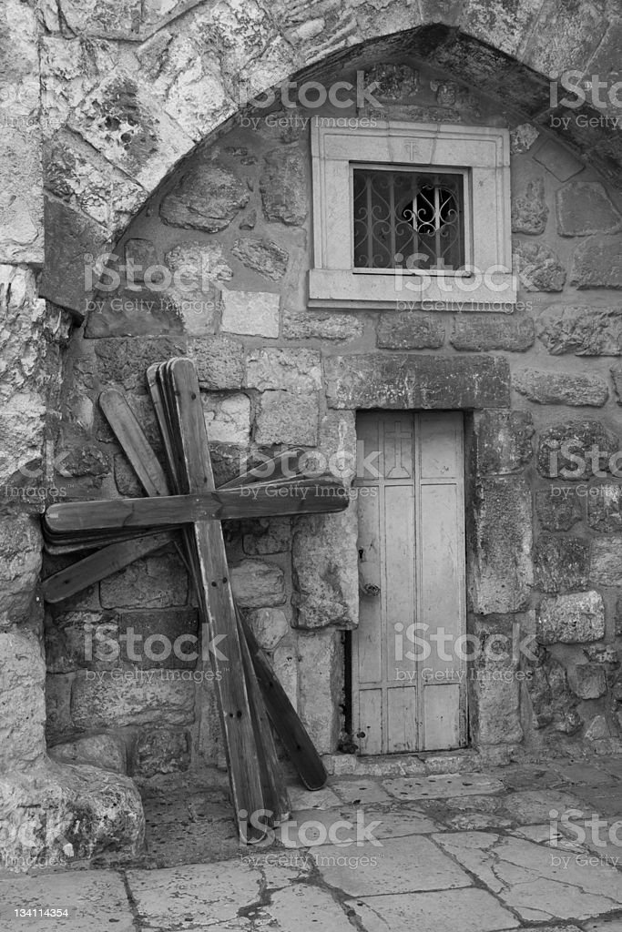 Old Crosses royalty-free stock photo