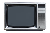 istock old CRT tube television set isolated on white background 1190430269