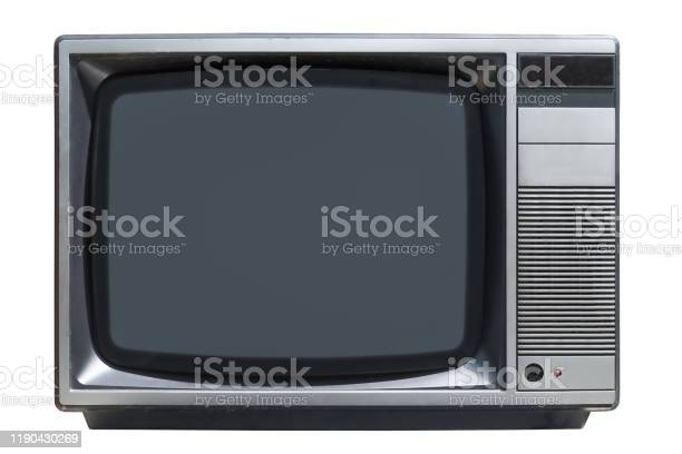 Old crt tube television set isolated on white background picture id1190430269?b=1&k=6&m=1190430269&s=612x612&h=en6scrdd4z5aiqsai6oxnkg1iyjlvcaxiizkbltiguo=