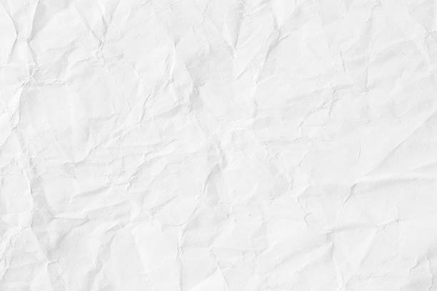 Old Crumpled Paper Background. stock photo