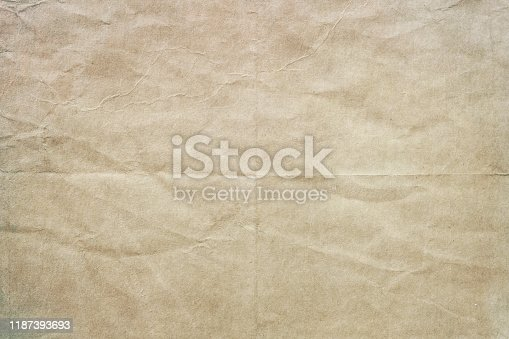 Old worn blank paper texture or background