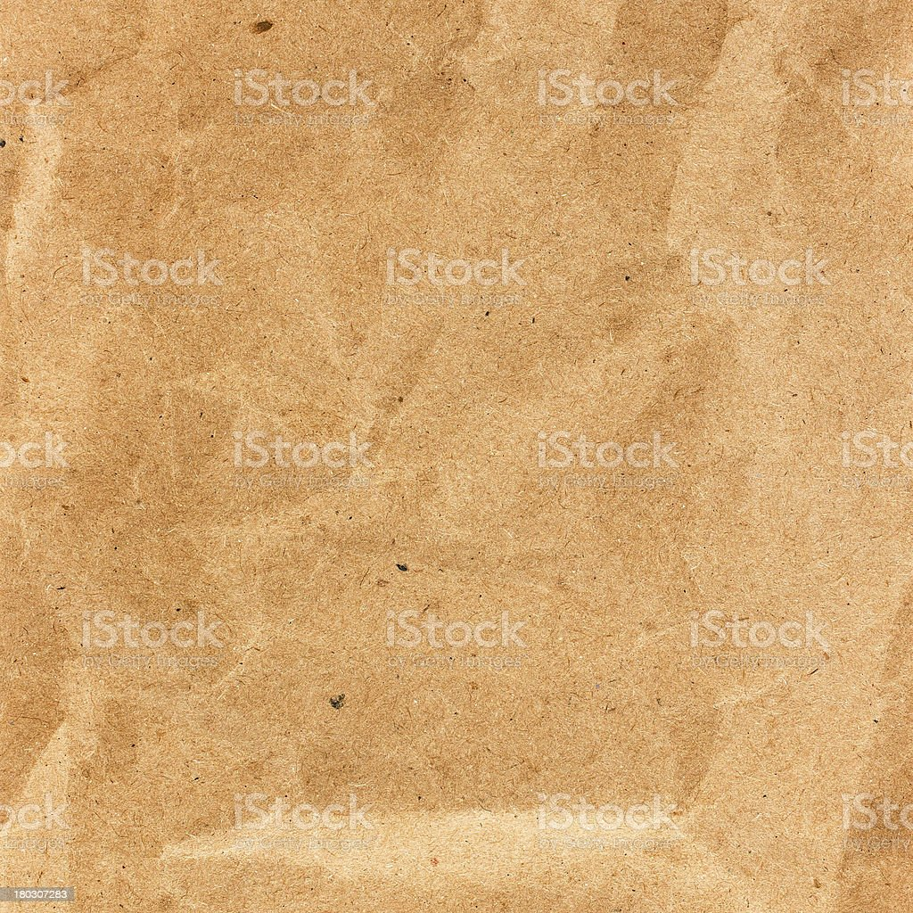Old Crumpled recycled paper  texture or background - perfect bac royalty-free stock photo