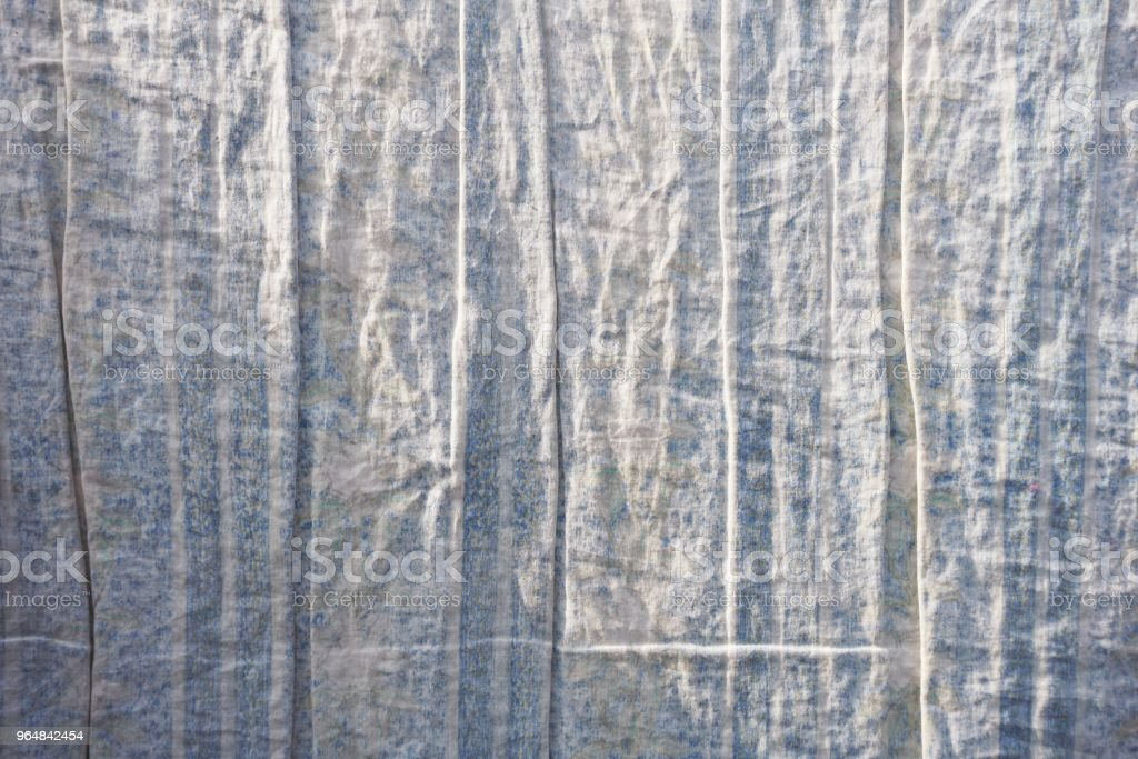 old crumpled textile texture royalty-free stock photo