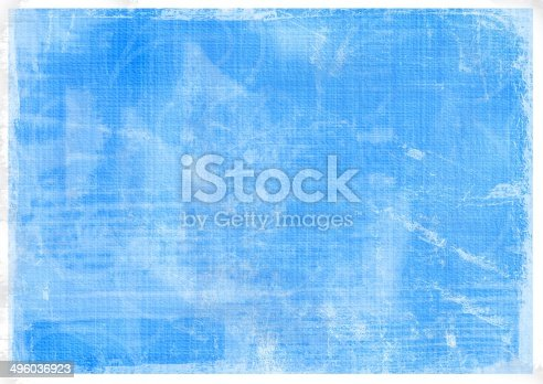 istock Old crumpled vintage card with dirty spots and stains 496036923