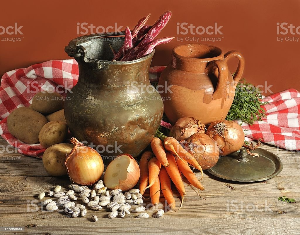 old cuisine royalty-free stock photo