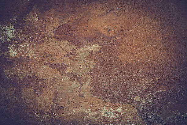old damaged facade as a vintage background old damaged facade as a vintage background in brown colors saloon stock pictures, royalty-free photos & images