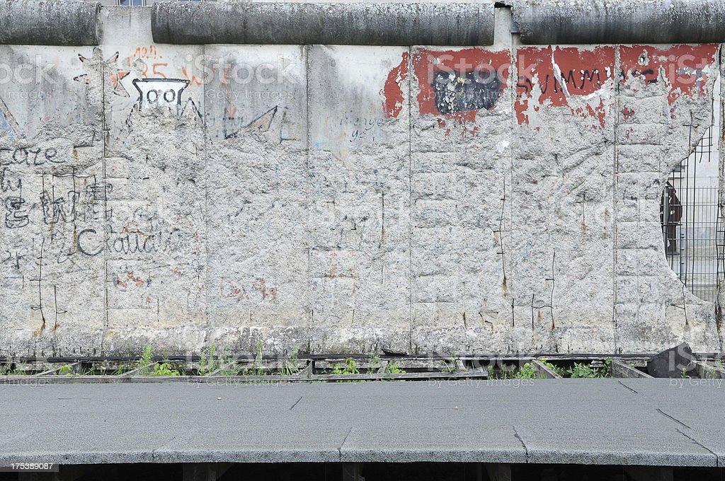 Old damaged wall royalty-free stock photo