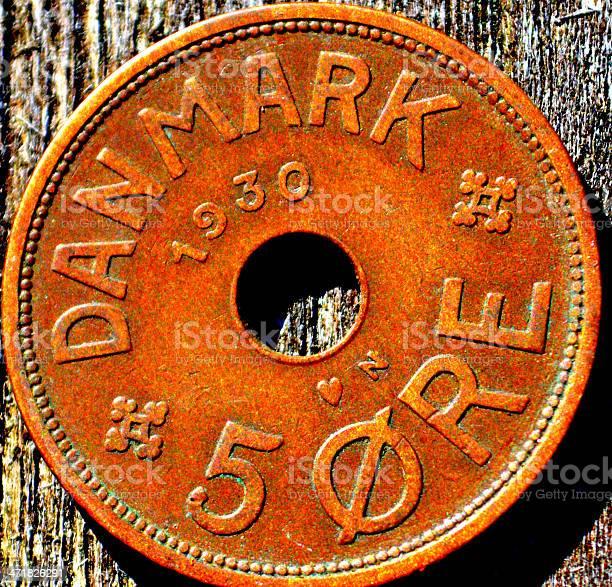 Old Danish coin