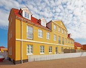 A photo of Old Danish houses