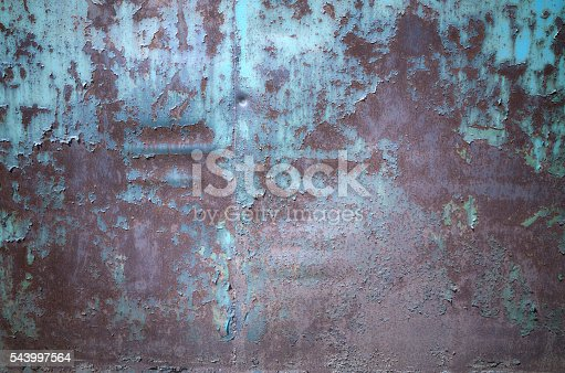 94372741 istock photo Old dark blue painted wall texture background 543997564