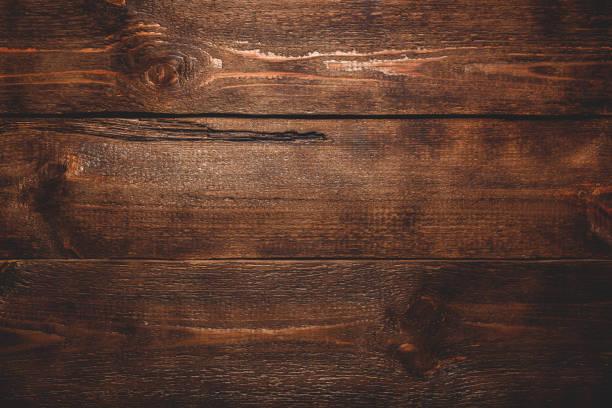 오래 된 어두운 나무 표면 - 나무 뉴스 사진 이미지