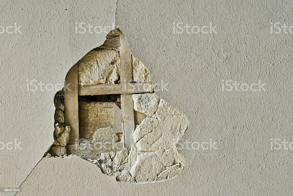 old decaying wall texture or background royalty-free stock photo