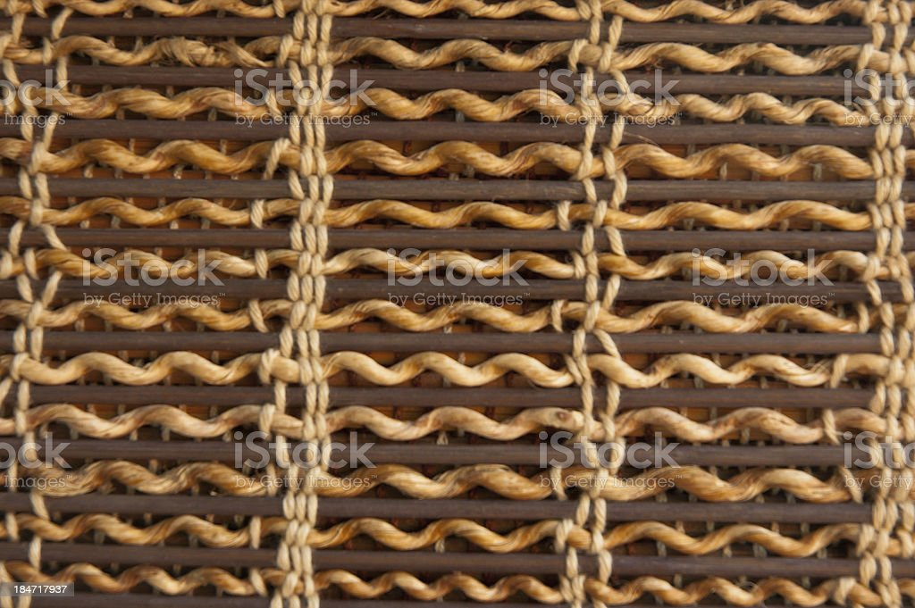 old deco warm tone bamboo blind royalty-free stock photo