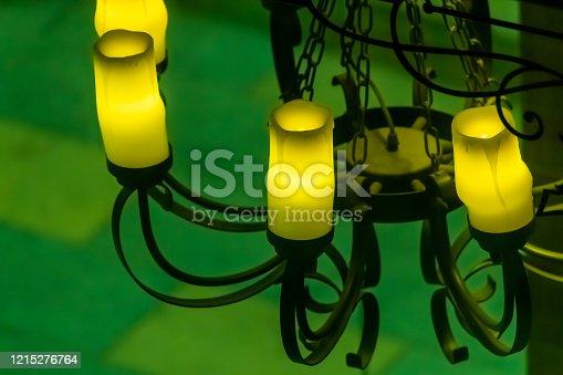 1137999886 istock photo Old decorative chandelier 1215276764