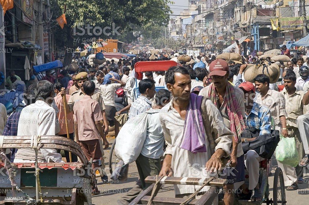 Old Delhi royalty-free stock photo