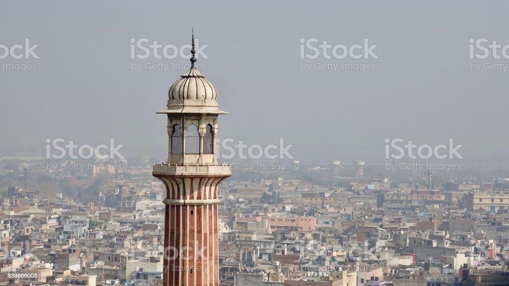 Old Delhi stock photo