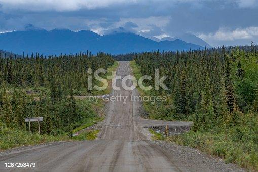 Old Denali dirt highway