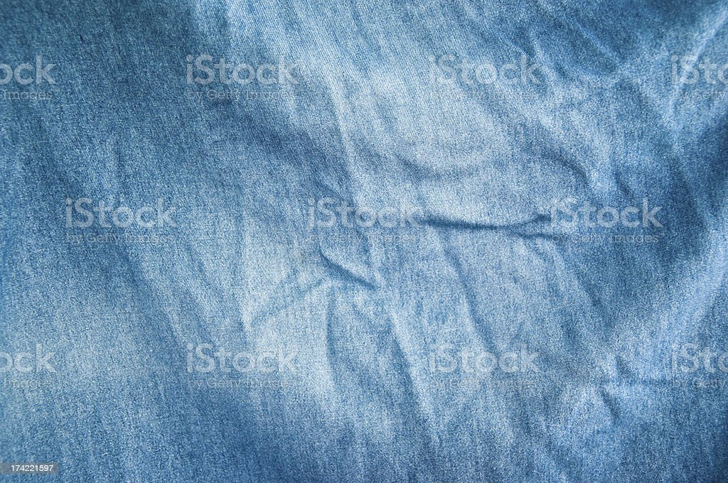 Old denim cloth royalty-free stock photo