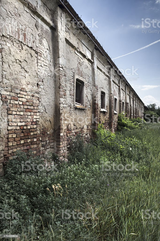 Old depot.. stock photo