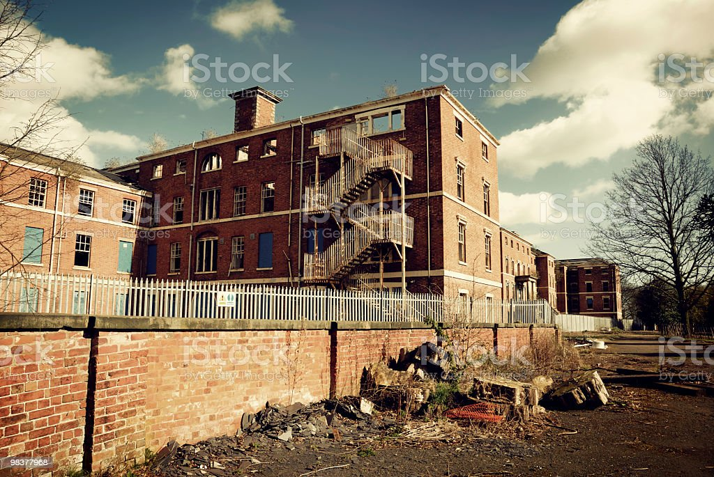Old Derelict Building royalty-free stock photo
