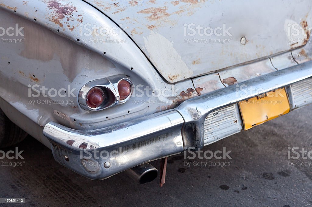 old derelict Auto – Foto