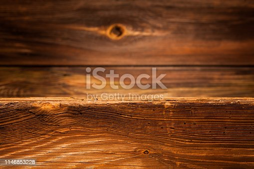 666644136 istock photo old destroyed wood and out of focus wood in the background 1146853228