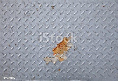 istock Old Diamond Metal 164010880