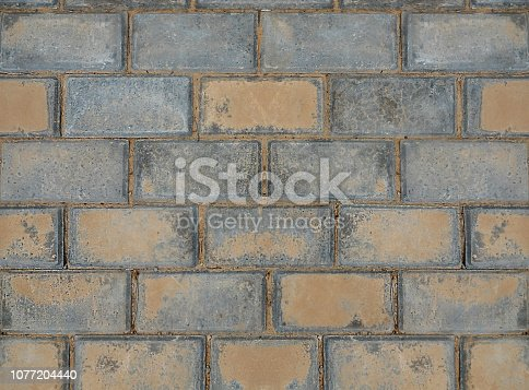 Close up seamless brick wall textured backgrounds