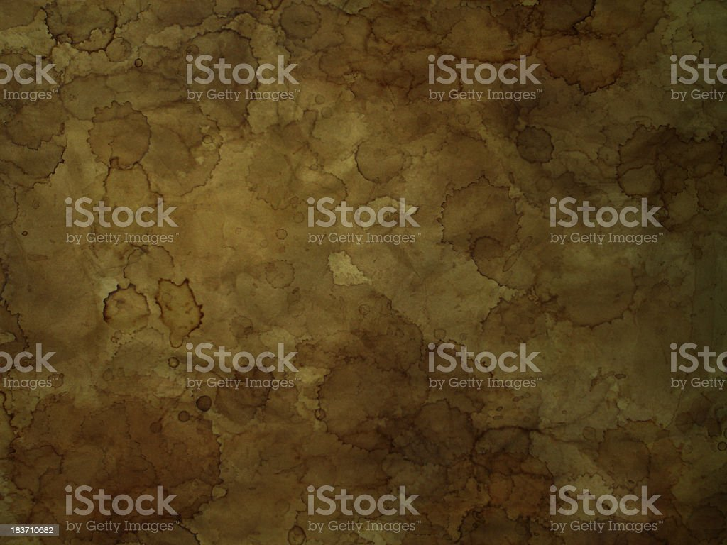Old dirty paper background royalty-free stock photo