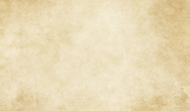 Old dirty paper texture. Old yellowed and grunge paper or parchment background. parchment stock pictures, royalty-free photos & images