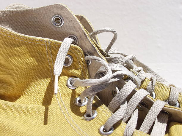 Old dirty rubber sport shoes  all star stock pictures, royalty-free photos & images