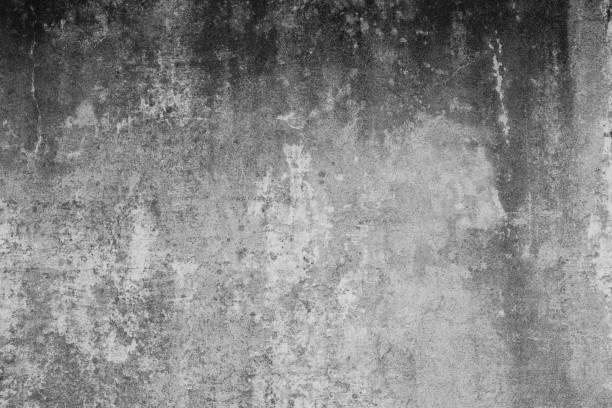 Alte verdreckte Wand mit groben und verschmutzen Strukturen und rissen. Hintergrund im Grunge Stil. Betonwand im Industrial Design. – Foto