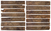 istock Old dirty wooden plank boards naturally weathered 1082044104