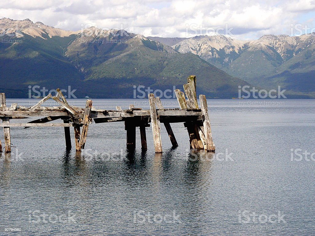 Old dock2 royalty-free stock photo