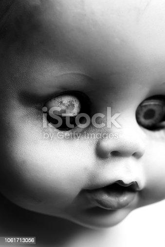 istock Old Doll Portrait 1061713056