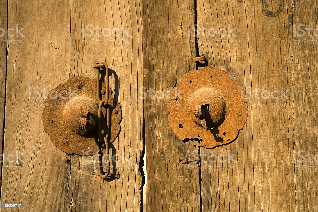 Old Door 2 royalty-free stock photo