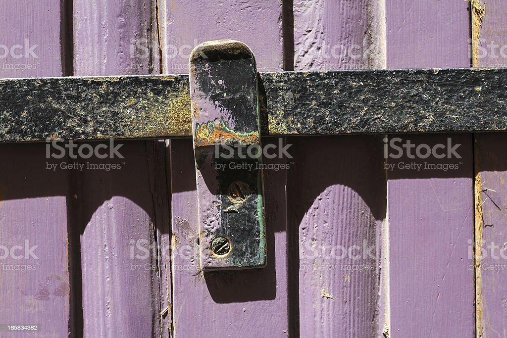 Old door background royalty-free stock photo