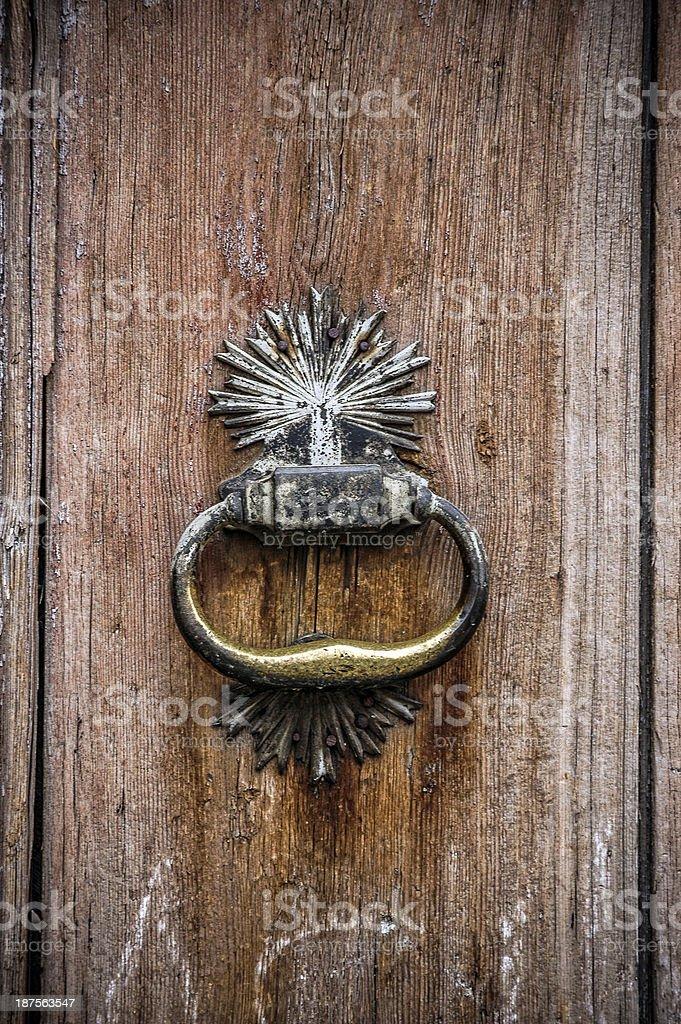 Old Door Hammer royalty-free stock photo