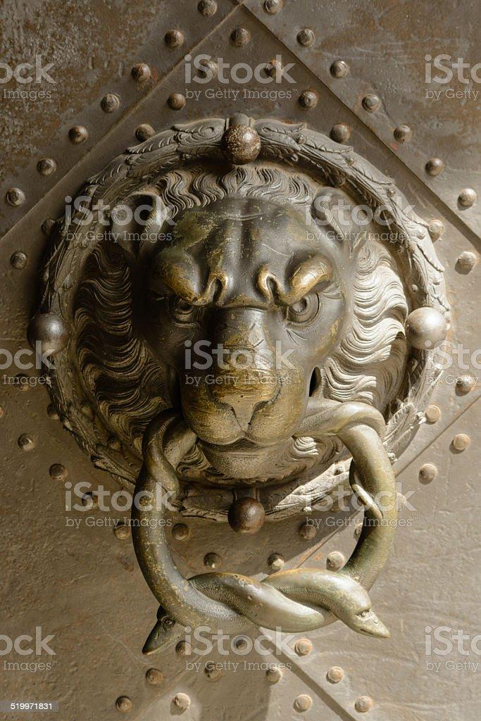 Old maçaneta de porta foto royalty-free