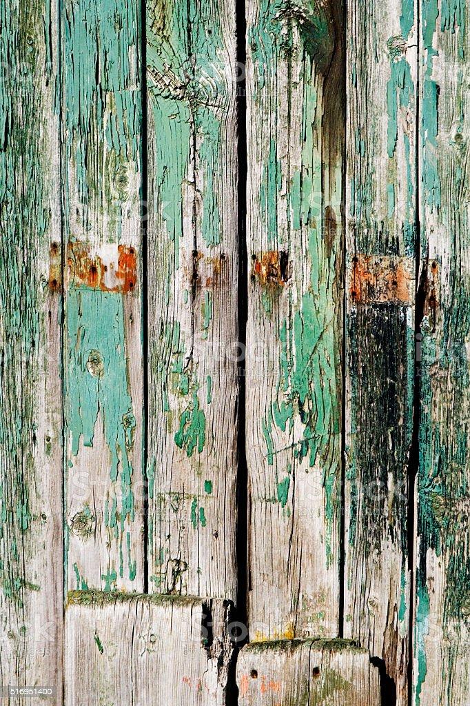 Old door in Helmsley stock photo