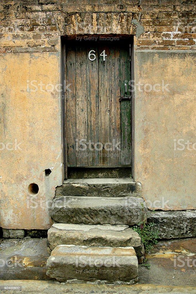 Old Door, No.64 royalty-free stock photo