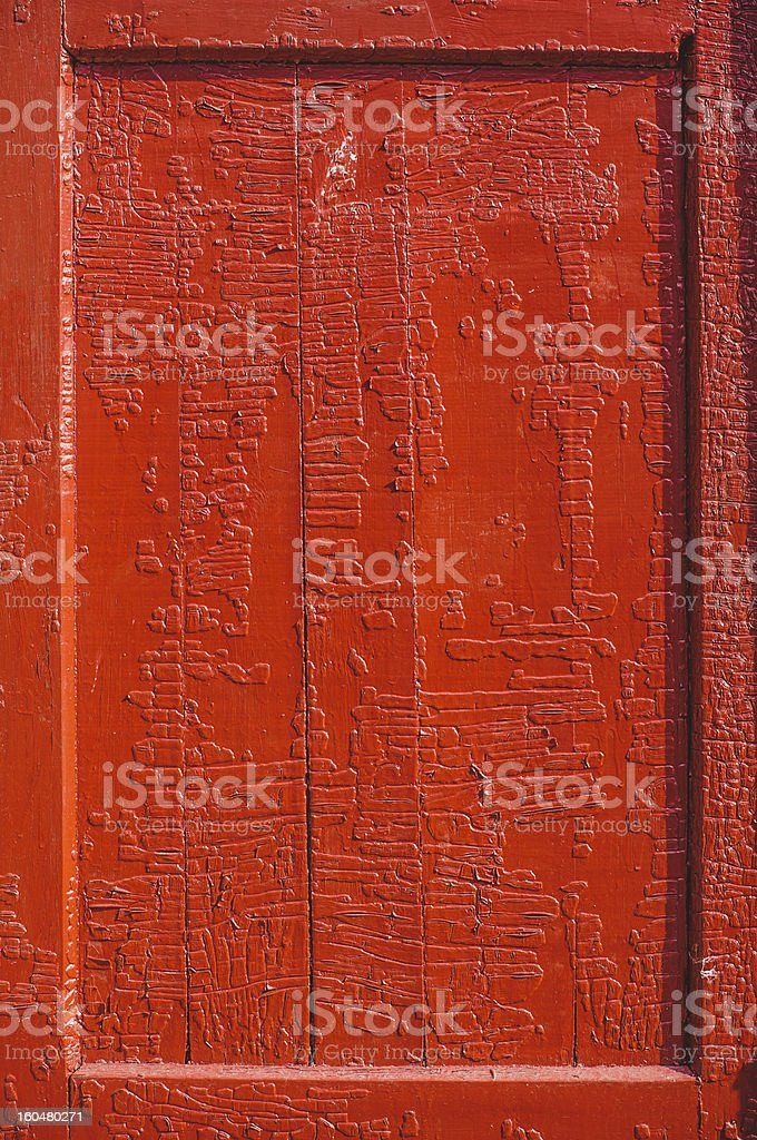 Old Door Panel royalty-free stock photo