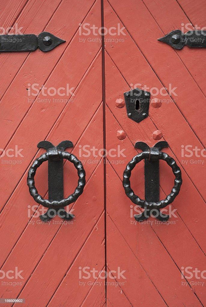 Old door royalty-free stock photo