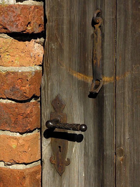 old door - depredation stock pictures, royalty-free photos & images