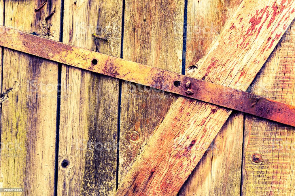Old door foto stock royalty-free
