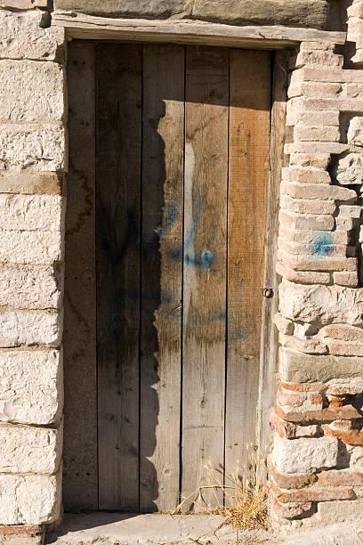 old door - double_p stockfoto's en -beelden